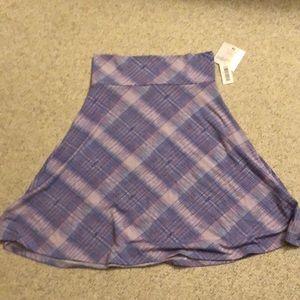 Lilac purple Lularoe Azure skirt - BNWT